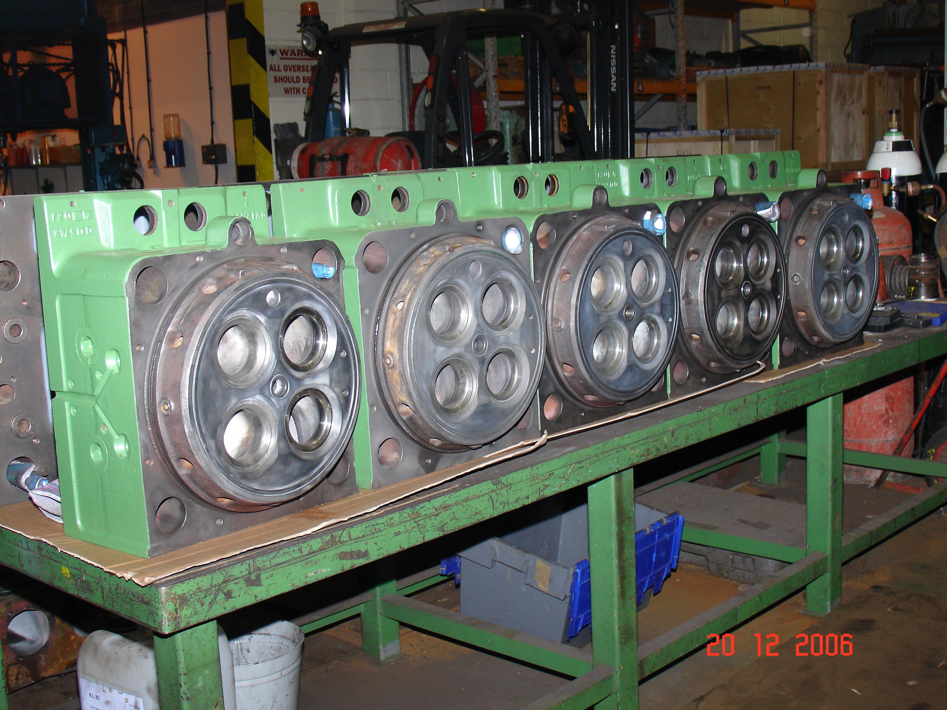 Cast Iron Welding of Marine Components