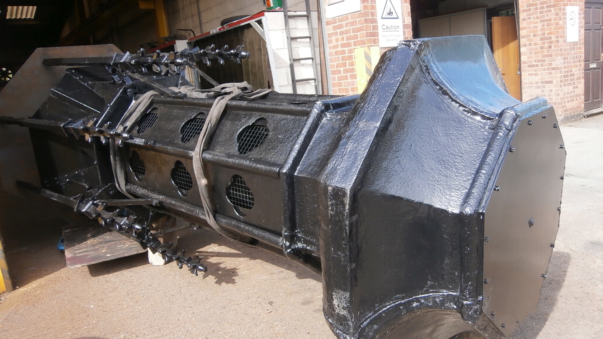 Cast Iron Welding Services Repair London Crematorium