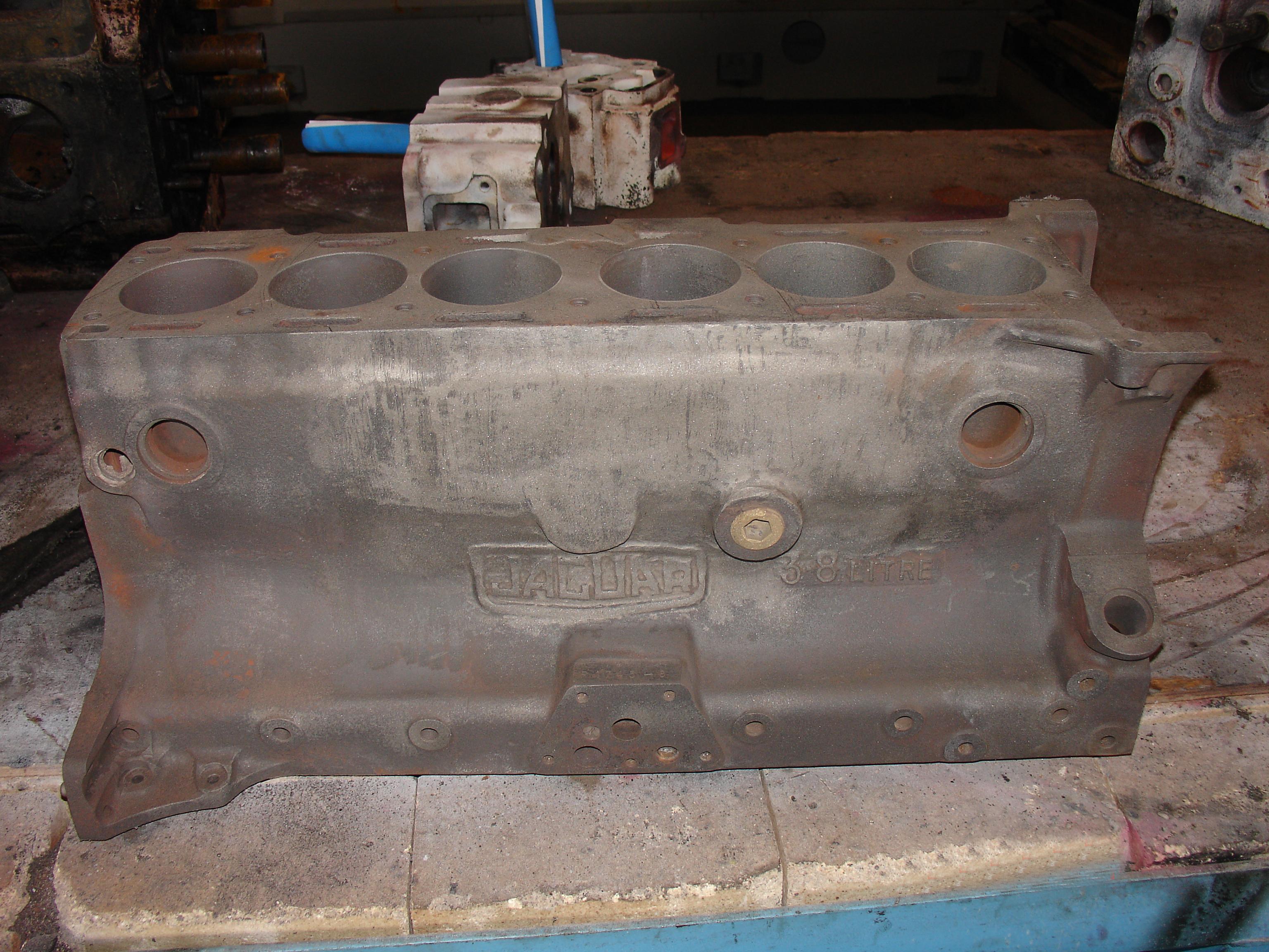 Cast Iron Welding Services Repair Jaguar Engine