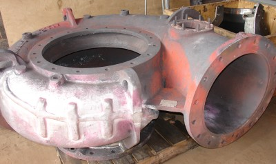 Cast Iron Welding Services Pump Housing Welding Repair