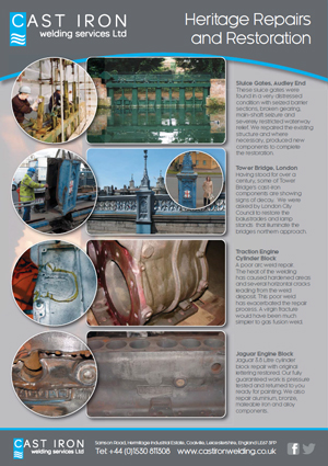Industrial Repairs Leaflet