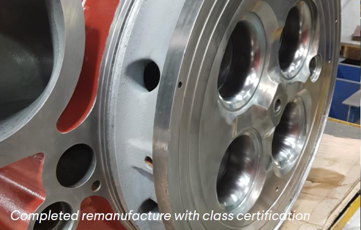 Remanufacture Class Certification Mak Caterpillar Cylinder Heard Cast Iron Welding Repairs