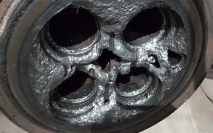 Cylinder head repairs before